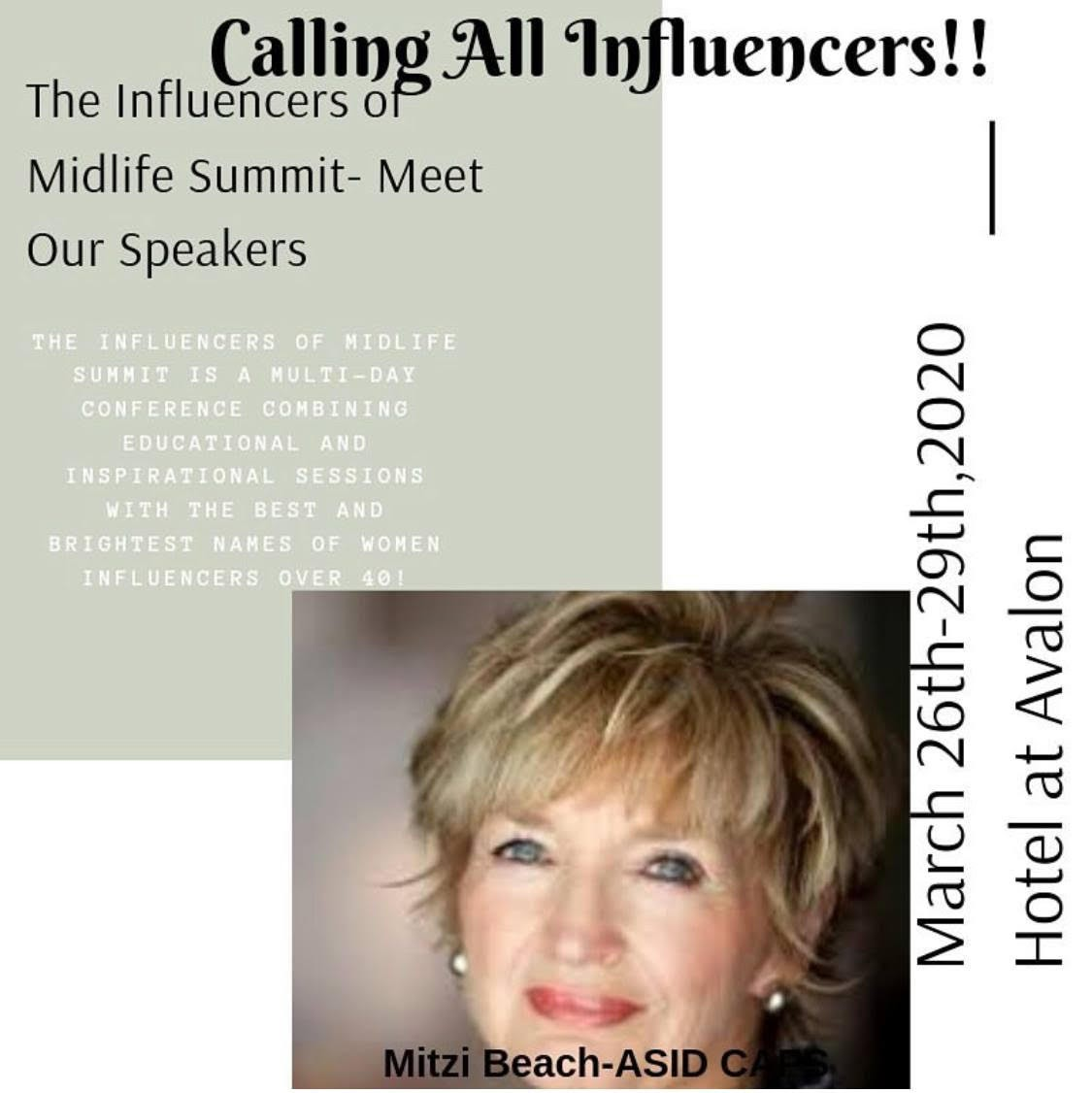 Calling all influencers